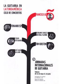 VI Jornadas de Guitarra 2008