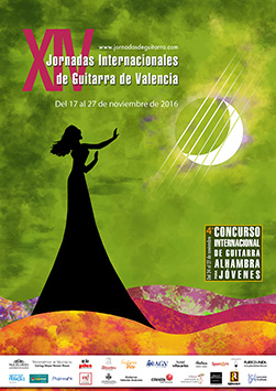 XIV Jornadas Internacionales de Guitarra de Valencia 2016