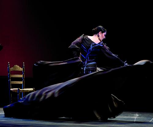 Julia Grecos, bailarina
