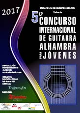 Permalink to:2017 – 5º Concurso I. de Guitarra Alhambra para Jóvenes
