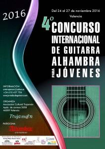 2016 Concurso I. de Guitarra Alhambra para Jóvenes 4º