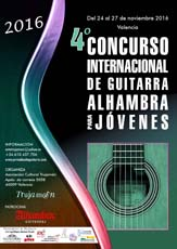 Permalink to:2016 Rules 4º Alhambra Guitar International Competition for Young