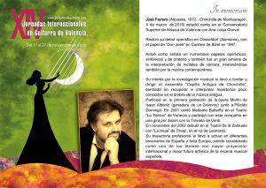 Concierto dedicado al tenor José Ferrero