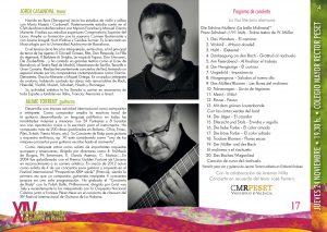 Jordi Casanova, tenor y Jaume Torrent, guitarra