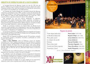 Orquesta de Cuerda Pulsada de la SM de Alboraya