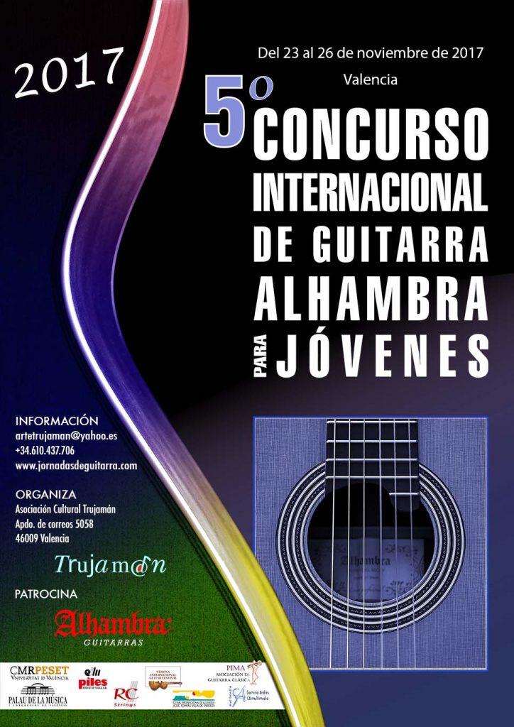 2017 Concurso I. de Guitarra Alhambra para Jóvenes 5º