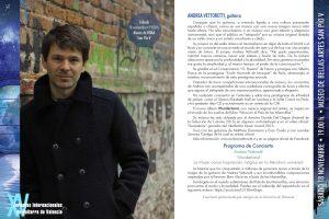 Concierto: Andrea Vettoretti, guitarra (Italia).
