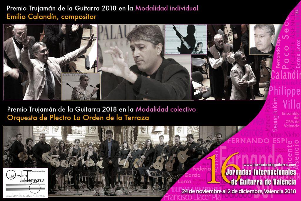 Premios Trujamán de la Guitarra 2018