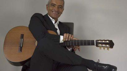 El guitarrista Massimo Delle Cese